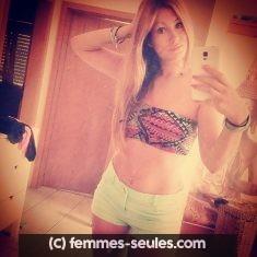 Ludivine femme seule et célibataire a Dijon cherche sexe