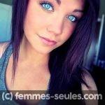 Jolie etudiante brune aux yeux bleus cherche rencontre a Bayonne