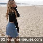 Rencontre torride a Agde avec belle blonde célib