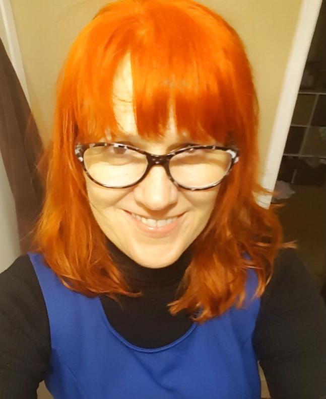 Gaelle, femme rousse de 35 ans, cherche compagnon sexy