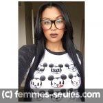 Tamara, métisse de 22 ans cherche un beau black musclé a Brest